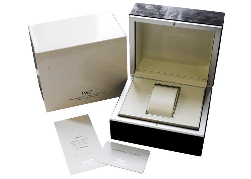 【中古】IWC IW329001 アクアタイマーオートマティック SS 黒文字盤 自動巻き ラバー