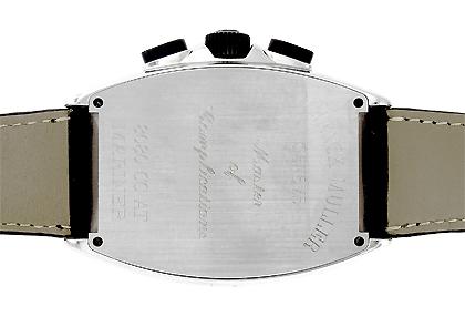 フランクミュラー 8080CCAT MAR トノーカーベックス マリナー SS 黒文字盤 自動巻き レザー
