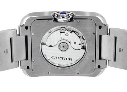 カルティエ W5310008 タンク アングレーズ XL SS シルバー文字盤 自動巻き ブレスレット