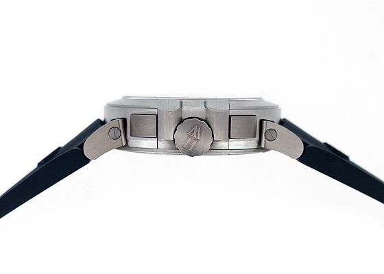 【世界限定250本】ハリーウィンストン OCEMAL44ZZ001 オーシャン プロジェクトZ6 ザリウム グレー文字盤 手巻 ラバー
