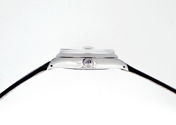 【ヴィンテージ】ロレックス 6694 オイスター デイト プレシジョン 70年代 SS シルバー文字盤 手巻き レザー