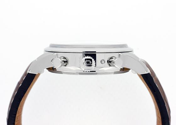 【未使用品】ブライトリング A194G50WBA トランスオーシャン クロノグラフ 1461 SS シルバー文字盤 自動巻き レザー