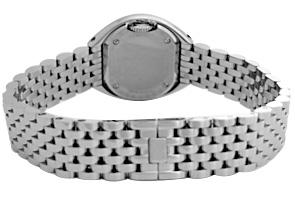 ベダ&カンパニー 227.031.600 レディース No.2 ダイヤモンドベゼル SS シルバー文字盤 クォーツ ブレスレット