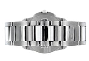 カルティエ W7100015 カリブルドゥカルティエ SS シルバー文字盤 自動巻き ブレスレット