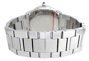 カルティエ W6701011 ロンド ソロ XL SS シルバー文字盤 自動巻き ブレスレット