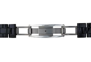 シャネル H2543 レディース J12 33mm PG&黒セラミック 黒文字盤/11Pダイヤモンド クォーツ ブレスレット