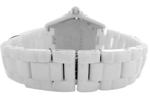 【世界限定2000本】 シャネル H3443 ボーイズ J12 ホワイトファントム 38mm 白セラミック 白文字盤 自動巻き ブレスレット