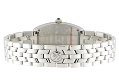 フランクミュラー 1752QZDP レディース トノーカーベックス 一重ダイヤモンド SS シルバー文字盤 クォーツ ブレスレット