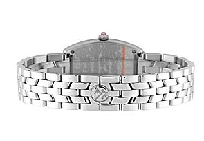 フランクミュラー 1752QZD レディース トノーカーベックス ダイヤモンド SS ピンク文字盤 クォーツ ブレスレット