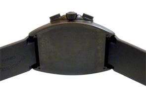 フランクミュラー 9080CCAT NR MAR トノーカーベックス マリナー SS(PVD) 黒文字盤 自動巻き ラバー