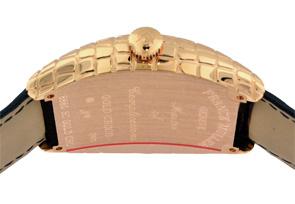 【お取り寄せ可能】フランクミュラー 8880SC GOLD CRO トノーカーベックス ゴールドクロコ PG ゴールド文字盤 自動巻き レザー