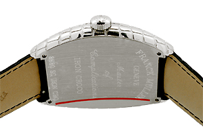 フランクミュラー 8880SC IRON CRO トノーカーベックス アイアンクロコ SS シルバー文字盤 自動巻き レザー