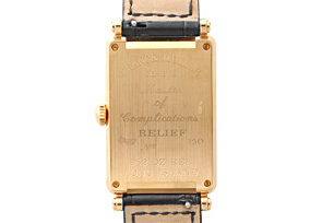 フランクミュラー 952QZ RELIEF ボーイズ ロングアイランド レリーフ RG シルバー文字盤 クォーツ レザー