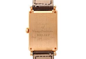 フランクミュラー 1000SC RELIEF ロングアイランド レリーフ PG シルバー文字盤 自動巻き レザー