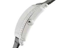 フランクミュラー 6000KSCDTD マスタースクエア キング ダイヤモンドベゼル 18Kホワイトゴールド シルバー文字盤 レザー