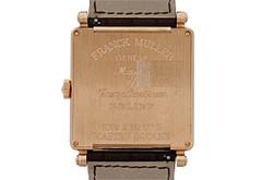 フランクミュラー 6000KSCDT RELIEF マスタースクエア キング レリーフ PG シルバー文字盤 自動巻き レザー