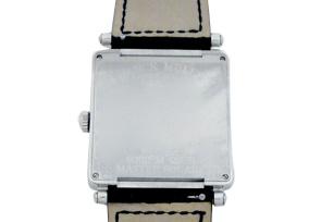 フランクミュラー 6002MQZ RELIEF レディース マスタースクエア SS 黒文字盤 クォーツ レザー