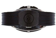 フランクミュラー 9900CCGP コンキスタドール グランプリ クロノグラフ TI シルバー文字盤 自動巻き レザー