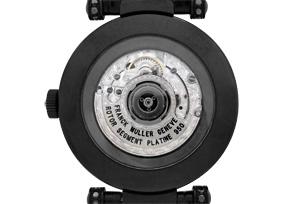 フランクミュラー DM42 NR D 2R CD ロンド ダブルミステリー ケースブラックダイヤモンド WG(PVD) ブラックダイヤモンド文字盤/ルビーインデックス 自動巻き レザー