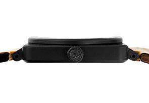 ベル&ロス BR01-92 ヘリテージ SS(PVD) 黒文字盤 自動巻き レザー