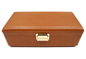 スカトラデルテンポ 4B コレクションボックス 4本収納 ブラウン レザー