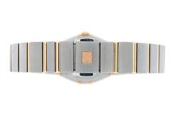 オメガ 123.20.24.60.63.001 レディース コンステレーション ブラッシュ RG&SS ブラウン文字盤/12Pダイヤモンド クォーツ ブレスレット