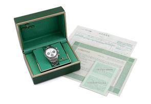 【ヴィンテージ】【1973年製】ロレックス 6263 オイスター コスモグラフ デイトナ BIG DAYTONA  プッシャー溝有 SS シルバー文字盤 手巻き ブレスレット