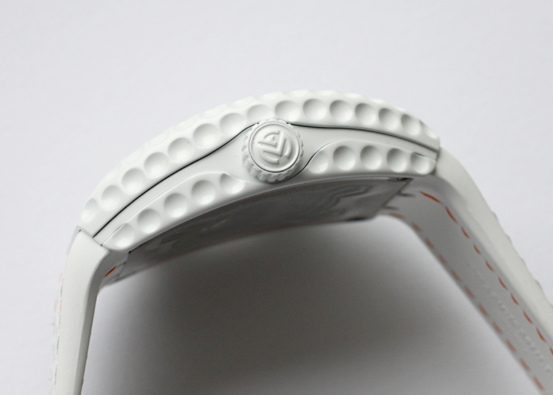 フランクミュラー V45 C GOLF TTBCBC ヴァンガード ゴルフ TI 白文字盤 自動巻き ラバーアリゲーター