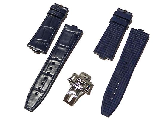 【未使用品】ヴァシュロンコンスタンタン 7900V/110A-B334 オーヴァーシーズ デュアルタイム SS ブルー文字盤 自動巻き ブレスレット