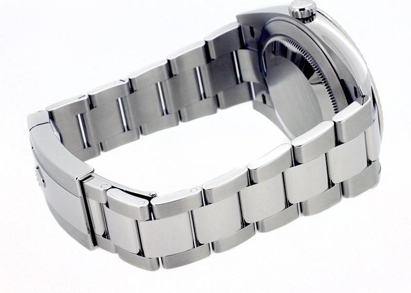 【未使用品】ロレックス 126334 オイスターパーペチュアル デイトジャスト WG&SS グレー文字盤 自動巻き ブレスレット
