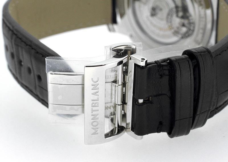 【未使用品】モンブラン MB115071 4810 オルビステラルム SS 白文字盤 自動巻き レザー