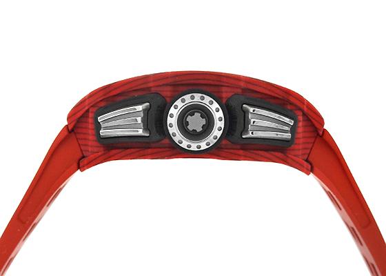 リシャール ミル RM11-03 オートマティック フライバック クロノグラフ TPT/カーボン スケルトン文字盤 自動巻き ラバー