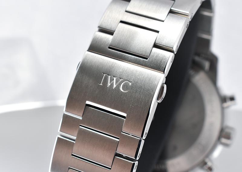 IWC IW376804 アクアタイマー クロノグラフ SS 黒文字盤 自動巻き ブレスレット