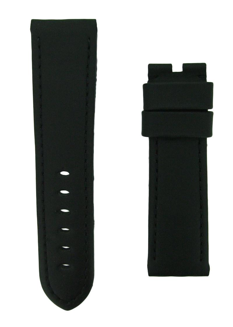 オフィチーネパネライ ラバーストラップ ルミノール 44mm用 初期タイプ ラバー ブラック 24-22mm