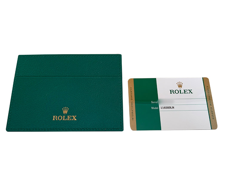 【中古】ロレックス 116500LN コスモグラフ デイトナ SS 黒文字盤 自動巻き ブレスレット