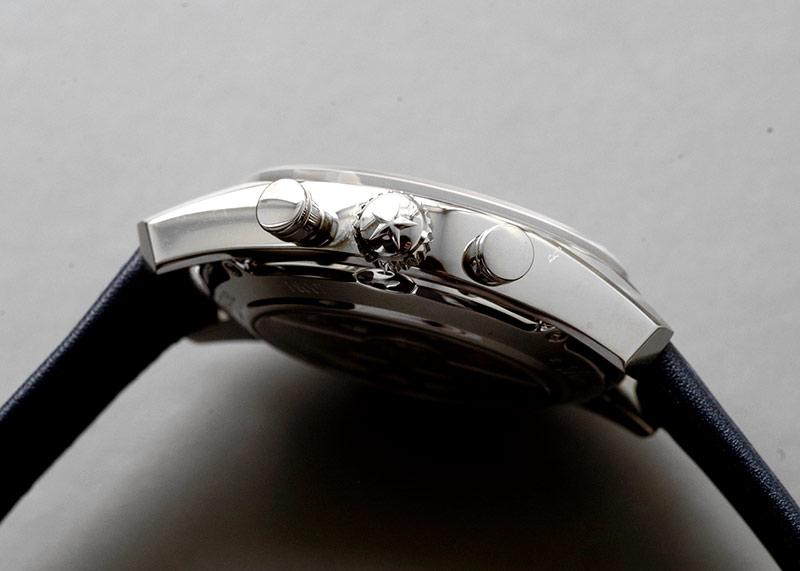 【未使用品】ゼニス 03.2150.4069/51.C805 クロノマスター ヘリテージ146 クロノグラフ SS ブルー文字盤 自動巻き レザー/ラバー