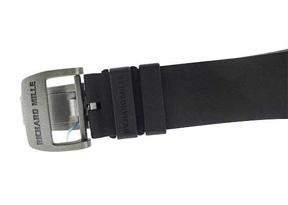 【未使用品】リシャールミル RM67-01 オートマティック エクストラフラット TI スケルトン文字盤 自動巻き ラバー