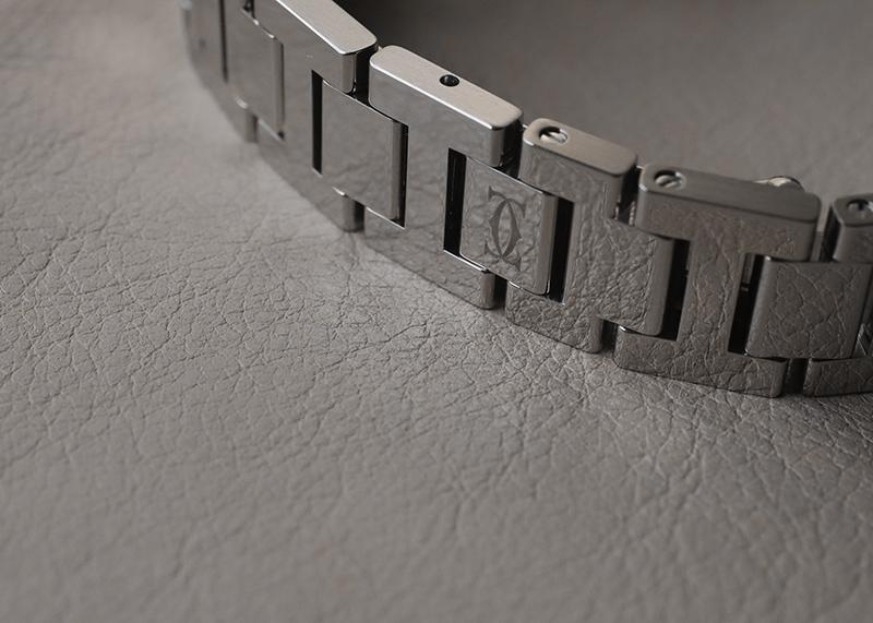 【中古】カルティエ W3140007 ミスパシャ SS シルバー文字盤 クォーツ ブレスレット