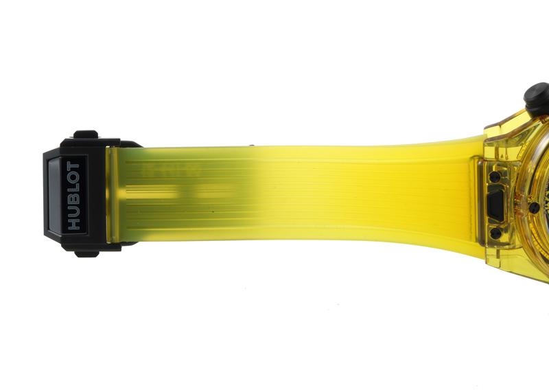【入荷予定】ウブロ 441.JY.4909.RT ビッグバンウニコ イエローサファイヤ 42mm クリスタル スケルトン文字盤 自動巻き ラバー【未使用品】