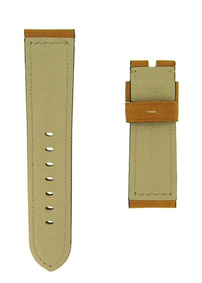 オフィチーネパネライ レザーストラップ ルミノール 44mm用 カーフ カシミアゴールド 24-22mm
