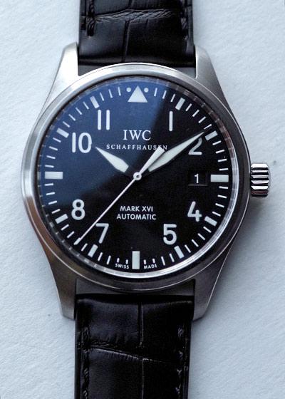 【生産終了】IWC パイロットウォッチ マークXVI(マーク16) IW325501 【中古】
