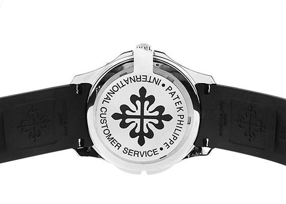 【中古】パテックフィリップ 5164A-001 アクアノート トラベルタイム SS 黒文字盤 自動巻き ラバー