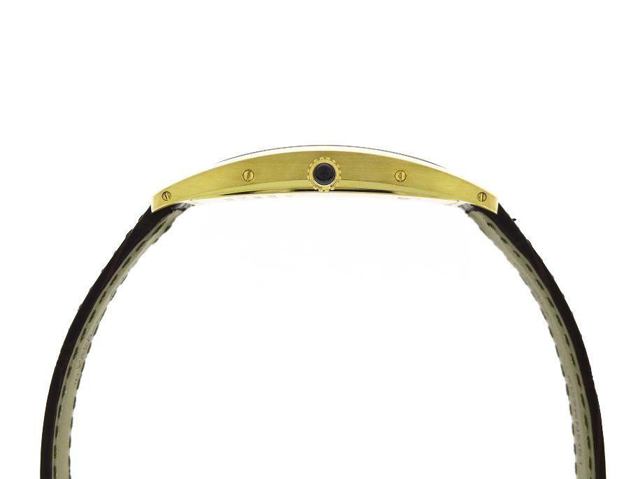 【未使用品】カルティエ WGTA0026 タンクサントレ LM YG シャンパン文字盤 手巻き レザー