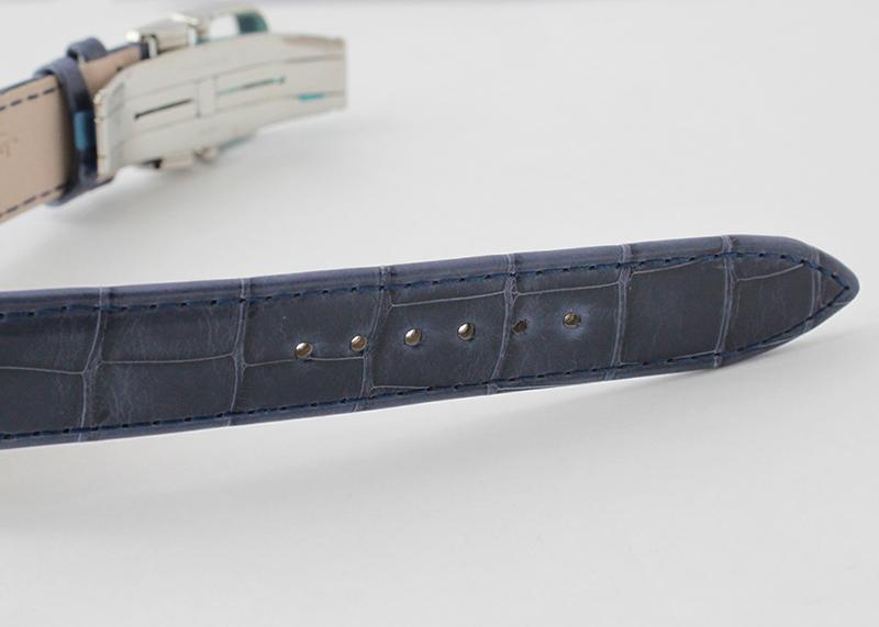 ジャガールクルト Q1258420 マスター ウルトラスリム ムーン SS シルバー文字盤 自動巻き レザー