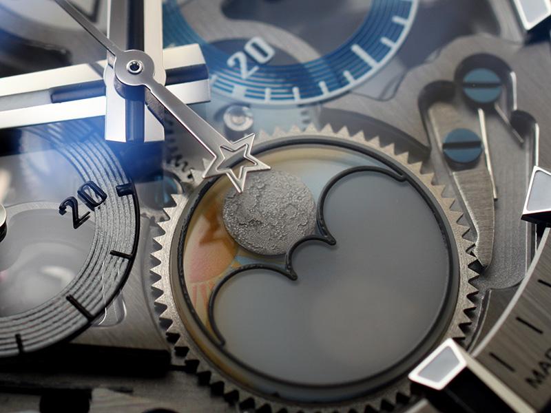 【未使用品】ゼニス 03.2530.4047/78.C813 クロノマスター エルプリメロ グランデイト フルオープン SS スケルトン文字盤 自動巻き レザー