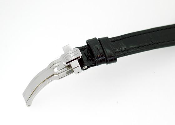 ハリーウィンストン AVEQHM21WW280 レディース アヴェニュー ダイヤモンド ドロップス ダイヤモンドベゼル WG グレー文字盤 クォーツ レザー