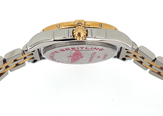 【未使用品】ブライトリング C373A24PAC(C37330) レディース ギャラクティック36mm RG&SS シェル文字盤 自動巻き ブレスレット