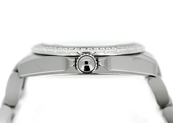 シャネル H2566 J12 クロマティック ダイヤモンドベゼル 38mm TI&CE グレー文字盤/8Pダイヤモンド 自動巻き ブレスレット