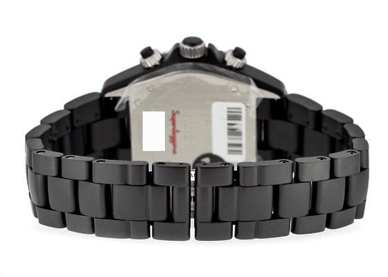 シャネル H3409 J12 スーパーレッジェーラ CE 黒文字盤 自動巻き ブレスレット