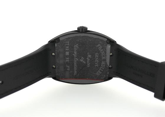 フランクミュラー V45SCDT ヴァンガード デイト TI 黒文字盤 自動巻き ナイロン/ラバー